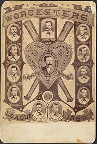 1880 Worcester Worcesters season - Worcester Worcesters, 1880