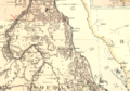 1885 Wady Halfa map Egypt and the Basin of the Nile by Johnston BPL m0612005 detail.png