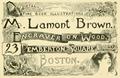 1893 MLamont Brown PembertonSq ad BostonArtGuide Massachusetts.png