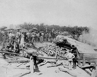 1894 Rock Island railroad wreck