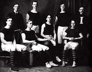 1900–01 Indiana Hoosiers men's basketball team - IU's first basketball team.