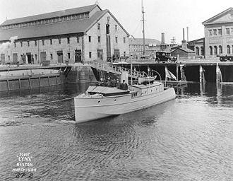 George Lawley & Son - USS Lynx, Boston, 1917