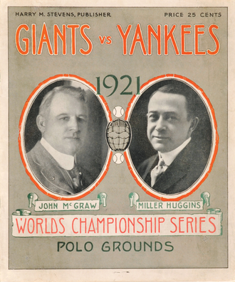1921 World Series - Image: 1921World Series