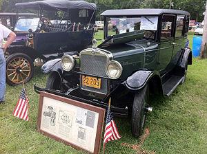 Ajax (American automobile) - 1926 Ajax sedan