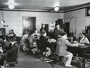 Central Casting - Image: 1929 Central Office