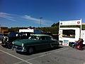 1954 Hudson Hornet sedan Hershey 2012 HET club.jpg