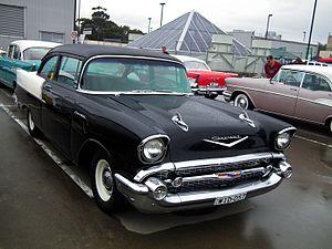 1957 Chevrolet - Image: 1957 Chevrolet One Fifty sedan (8451726334)