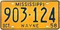 1958 Mississippi License Plate.jpg