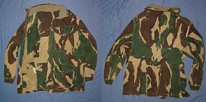 1959 Pattern Denison Parachute Smock - Front and Rear