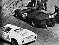 1967-05-14 Targa Florio Collesano Ferrari 330 P3 0846 Porsche 910-8 Siffert+Herrmann.jpg
