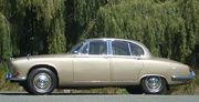 A 1968 Jaguar 420 sports saloon