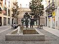 196 Les bugaderes d'Artur Aldomà, a la plaça de les Basses.jpg