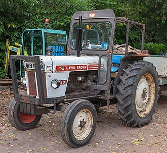 David Brown Ltd. - 1971 David Brown 990 tractor