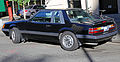 1986 Ford Mustang LX 5.0 notchback, rear left.jpg