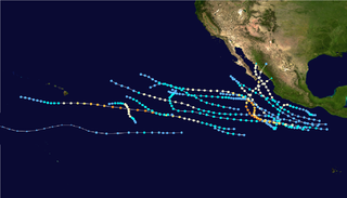 1986 Pacific hurricane season hurricane season in the Pacific Ocean