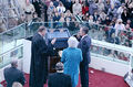 1989 Presidential Inauguration, George H. W. Bush, Opening Ceremonies, at Capitol, Swearing In.jpg