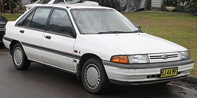 1990 Ford Laser (KF) Ghia 5-door hatchback (20914599494).jpg