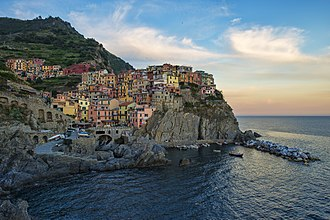 Development of Overwatch - The visuals for the Mexico-based Dorado map were inadvertently inspired by the mountainside-homes of Manarola, Italy.
