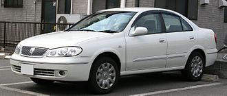 Nissan Sylphy - 2003–2005 Nissan Bluebird Sylphy sedan (Japan)