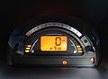 2004 Citroen C2 1.4 HDi Diesel instrument panel.jpg