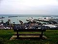 2005-07-26 - United Kingdom - England - Dover - Port - Bench 4888107016.jpg