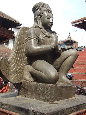 Newa art - Sculpture of Garuda
