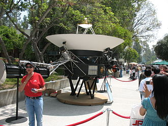 Jet Propulsion Laboratory - A display at the May 19, 2007 Open House
