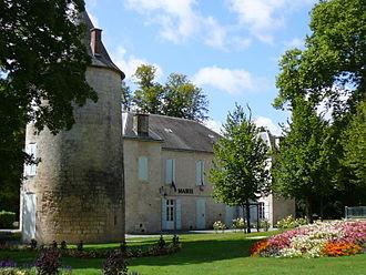 Aunis - Surgères castle, now the town hall