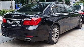 BMW 7 Series (F01) - 740Li LWB (pre-facelift)