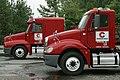 2009-07-05 Chatham Steel Freightliners.jpg