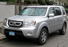 Honda Pilot II przed face liftingiem