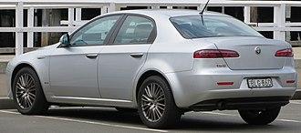 Alfa Romeo 159 - Sedan or berlina