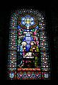 200 Basílica de Montserrat, capella de Sant Martí, vitrall.JPG