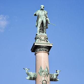 Wilhelm von Tegetthoff - Tegetthoff Denkmal, Praterstern, Vienna