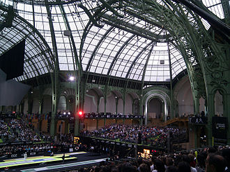 2010 World Fencing Championships - General view of the Grand Palais during the championship