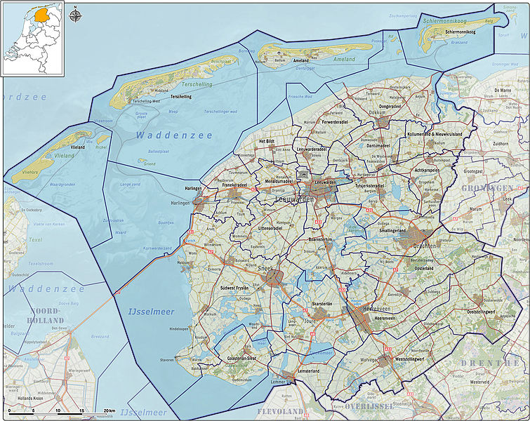 Province Friesland Visitholland