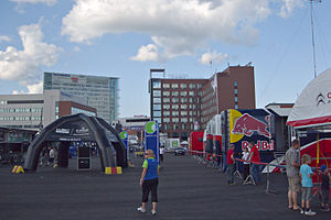 2012 Rally Finland tuesday preparations 02.jpg