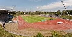 2013-08-23 Sportpark Nord, Bonn - Stadion; Ansicht aus Süden IMG 5117.jpg