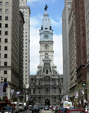 Civil engineering - Philadelphia City Hall in the US is still the world's tallest masonry load-bearing structure.