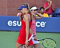 2013 US Open (Tennis) - Daniela Hantuchova and Martina Hingis (9649619233).jpg