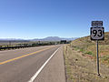 2014-06-22 10 01 27 First reassurance sign after crossing the Idaho state line along southbound U.S. Route 93 in Jackpot, Nevada.JPG