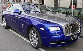 Rolls-Royce Wraith (2013) British luxury car model