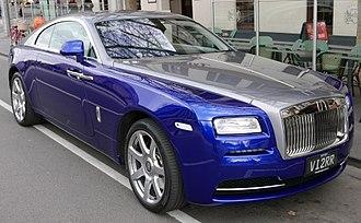 Rolls-Royce Motor Cars - Rolls-Royce Wraith