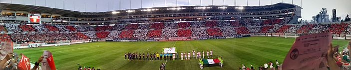 El Estadio Victoria durante la Final de Ascenso 2014-2015.