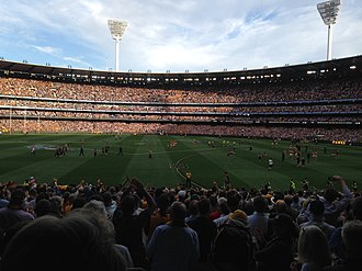 2015 AFL Grand Final - Image: 2015 AFL Grand Final final siren