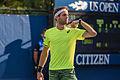 2015 US Open Tennis - Qualies - Guilherme Clezar (BRA) def. Nicolas Almagro (ESP) (12) (21142153712).jpg