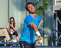 2015 US Open Tennis - Qualies - Jose Hernandez-Fernandez (DOM) def. Jonathan Eysseric (FRA) (20344560544).jpg