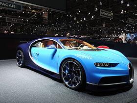 1. Bugatti Chiron (288 mph)