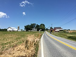 A farm in Shawsville