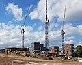 2016 Woolwich, Trinity Walk, construction site 03.jpg